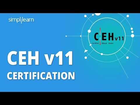 CEH V11 Certification | Simplilearn - YouTube