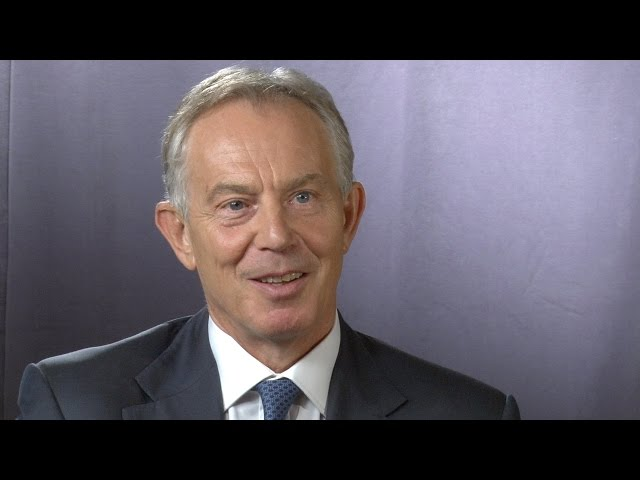 Philanthropy 360º: Tony Blair, Former Prime Minister, Great Britain and Northern Ireland
