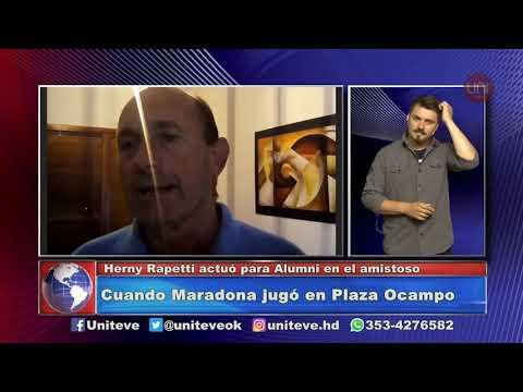 Cuando Diego jugó en Villa María