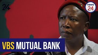 EFF leader Julius Malema will be in conversation with a group of journalists at 12:00 on Thursday.  The EFF has dominated news headlines in recent weeks after new revelations of VBS Mutual Bank money allegedly being paid into slush funds that found its way into the pockets of Malema and EFF deputy leaderFloyd Shivambu.  For this story and more, visit News24: https://www.news24.com/