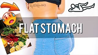 My FLAT TUMMY SECRETS! Nutrition Diet And Exercise For Abs | Bri Hall