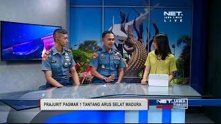 NET. JATIM - TALKSHOW : PRAJURIT PASMAR 1 TANTANG ARUS SELAT MADURA