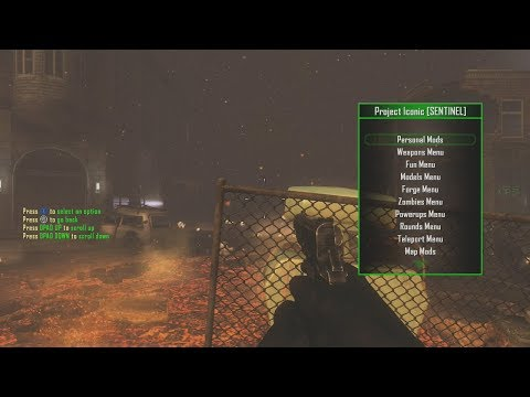Bo2 - Project Iconic Zombie Mod Menu Theather Infection [NO