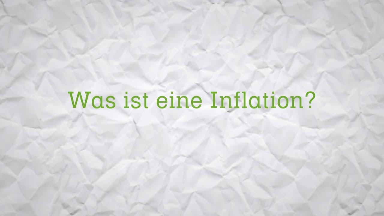 WAS IST EINE INFLATION? (Erkärfilm)