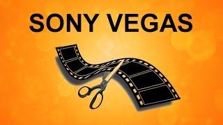 Как обрезать, склеить, удалить в Sony Vegas. Уроки видеомонтажа Sony Vegas Pro
