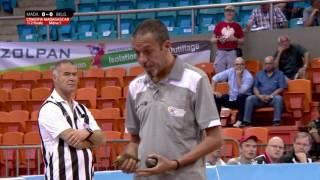 Championnat du monde 2016 de pétanque - 1/2 finale - Madagascar vs Belgique