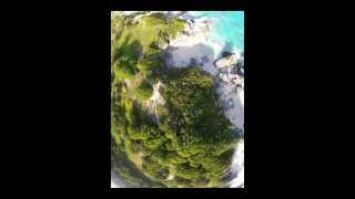 preview picture of video 'Jobson's Cove, Warwick, Bermuda from Firebird Stratos'