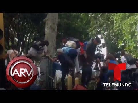 Estampida humana en medio de concierto en Venezuela deja tres muertos | Al Rojo Vivo | Telemundo
