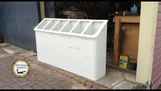 Woodworking : Space Saving Laundry Room Storage //How-To Part 1