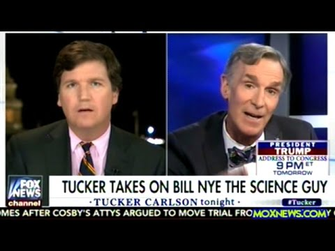 BILL NYE THE SCIENCE GUY vs TUCKER CARLSON ON CLIMATE CHANGE