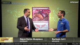 World Championship 2014 Deck Tech with Raphael Levy: Rabble Red Update