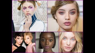 Hottest Makeup Trends From SS 2018 NYFW / Best Beauty Trends