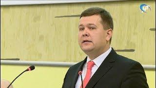 На ученом совете НовГУ представили исполняющего обязанности ректора