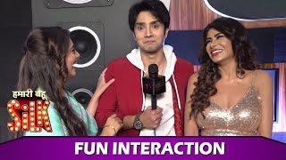 Hamari Bahu Silk: Chahat Pandey, Zaan Khan & Reeva Chaudhary's Fun Chat On Their New Show