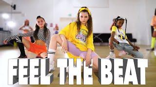 Black Eyed Peas, Maluma - FEEL THE BEAT | Kids Street Dance | Sabrina Lonis Choreo