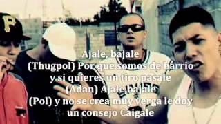 Soy de Barrio   Adan Zapata Clip Letra 2013 ''Mente en Blanco''   YouTube