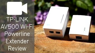 TP-LINK AV500 WiFi Powerline Extender Review