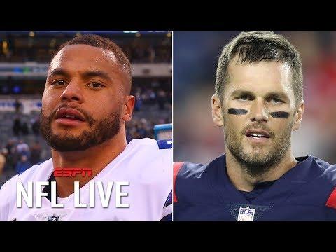 Should Dak Prescott be like Tom Brady and take a pay cut to make the Cowboys better? | NFL Live