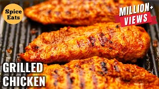 GRILLED CHICKEN RECIPE | MASALA GRILLED CHICKEN RECIPE | GRILL CHICKEN RECIPE