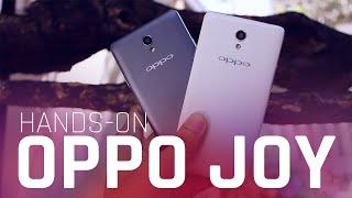 OPPO JOY 3 Hands-on
