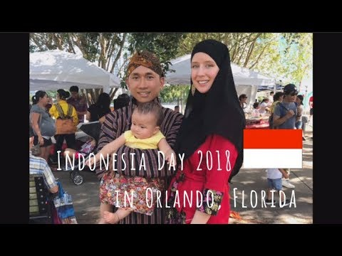 Indonesia Day 2018 || Indonesia Tanggal In America Vlog || American Revert