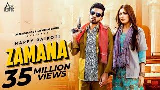 Zamana | (Full HD) | Happy Raikoti Ft.Afsana Khan | Ginni Kapoor | Punjabi Song 2020 | Jass Records