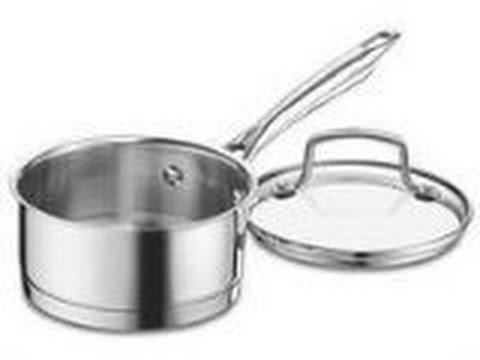 cuisinart 8919 14 professional stainless saucepan with cover 1 quart