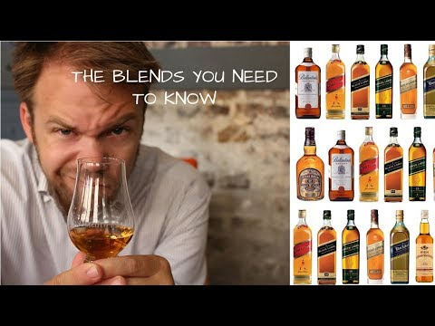 The 5 Blended Whiskies You Need to Know