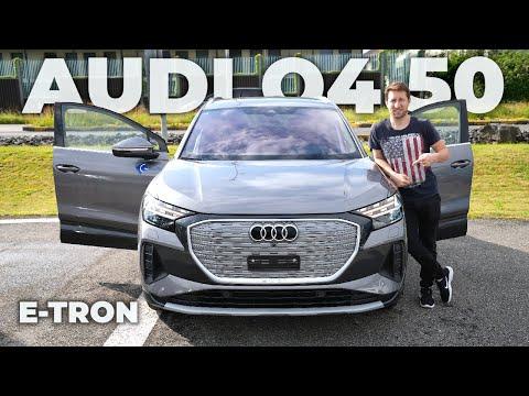 New Audi Q4 50 e-Tron 2021 Review Interior Exterior