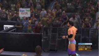 WWE '12 Justin Gabriel Updated Entrance [Video]