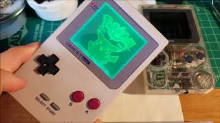 Gameboy Pocket Touch RGB And Select Able Invert Mod