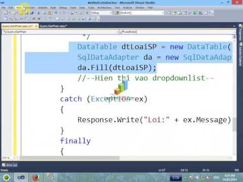 VD03 - Kết nối với cơ sở dữ liệu -P2