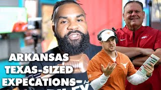 On Expectations For Texas And Arkansas Football In 2020