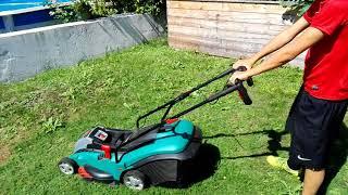 Rasenmähen leicht gemacht? Bosch Akku Rasenmäher Rotak 43 LI