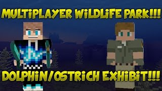 Multiplayer Wildlife Park #2!!! Dolphin Exhibit!!! (Minecraft - PC)