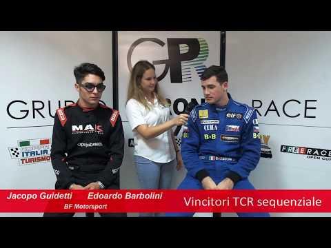 COPPA ITALIA - la parola ai vincitori della Classe TCR: Edoardo Barbolini e Jacopo Guidetti