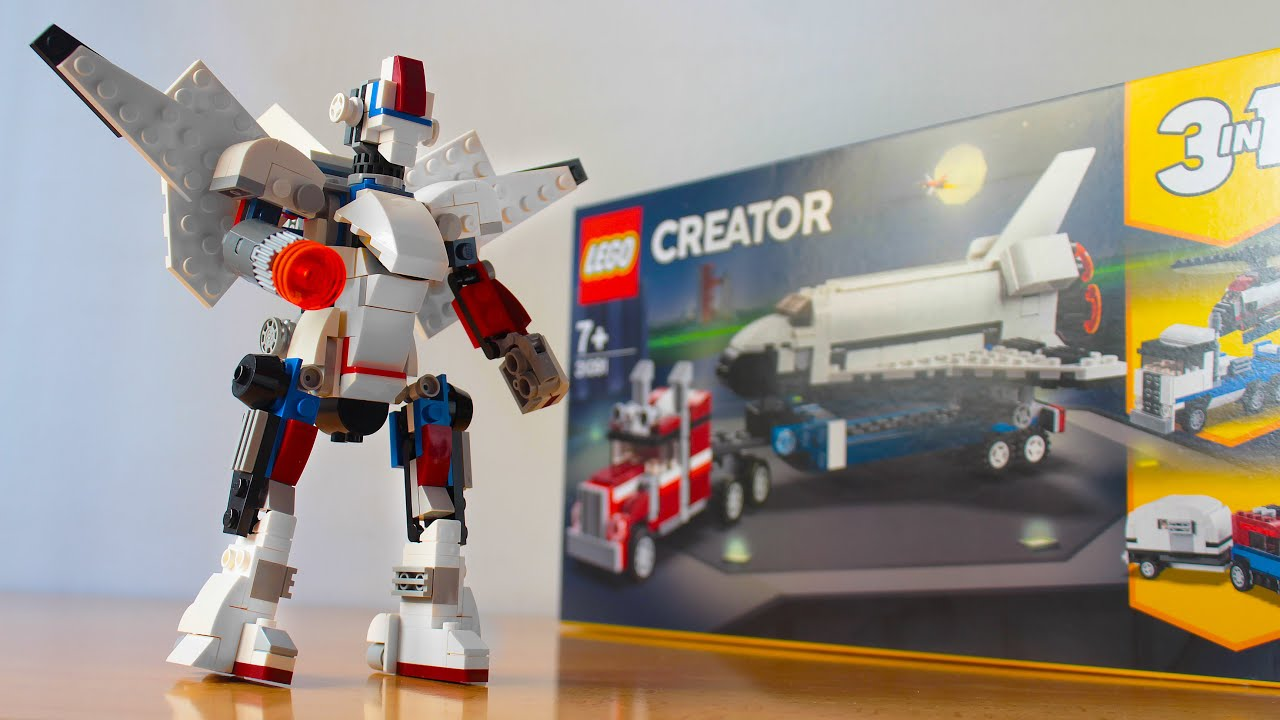 Lego Battle Mech using the Creator 31091 set