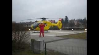 preview picture of video 'EC 135 OE-XEA Christophorus 2 Start KH Hollabrunn nach St. Pölten'