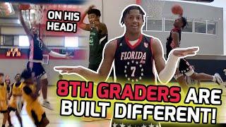 "8TH GRADE Jamier Jones Putting Kids On POSTERS! 6'5"" Guard Takes Home 9th Grade Tournament MVP! 🏆"