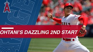 Ohtani flirts with perfection into 7th, strikes out 12