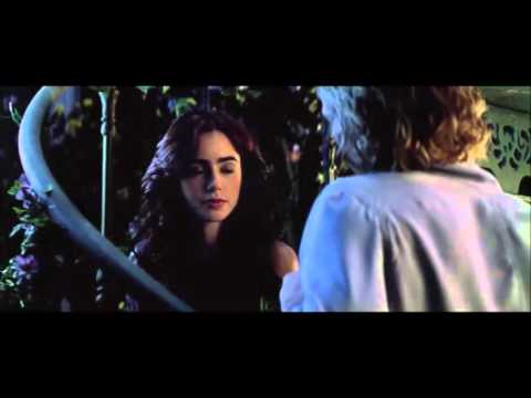 The Mortal Instruments   City of Bones   Greenhouse scene Kiss Jace and Clary