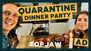 OUR QUARANTINE DINNER PARTY: Ready, Steady, Chaos With WAITROSE AND PARTNERS | AD