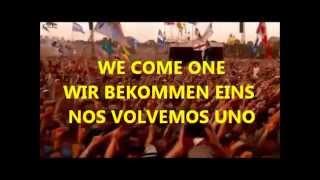 faithless - we come one  live (sub. español+deutsch+english)