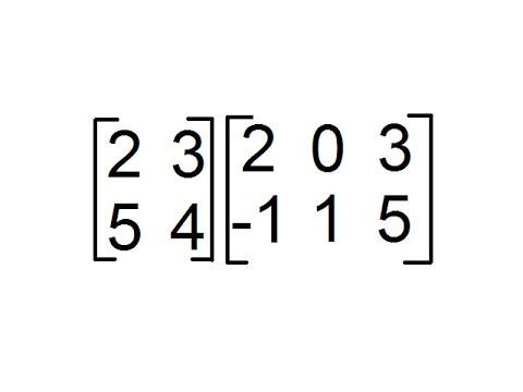 Multiplicación de Matrices de orden 2x2 y 2x3 [Producto de Matrices]