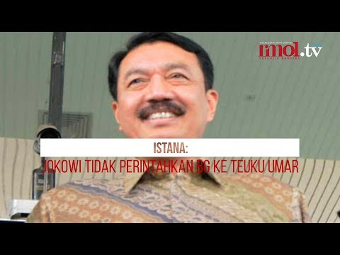 Istana: Jokowi Tidak Perintahkan BG Ke Teuku Umar