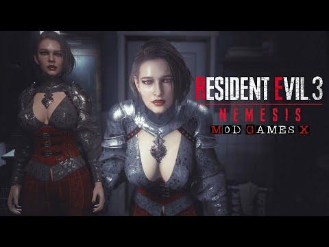 Resident Evil 3 RE MOD -  Jill Vampire Warrior