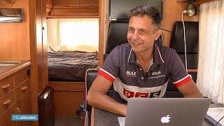 Wielerfan Stephan verdient zijn geld met volgen Tour - RTL NIEUWS