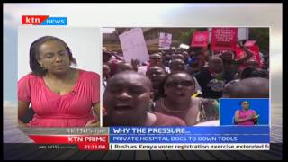 KTN Prime: Jacqueline Kitulu, KMA Chair responds to jailing of Doctors' Union officials