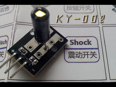Arduino: Sensor de vibración (KY-002 37in1 kit)   TechKrowd