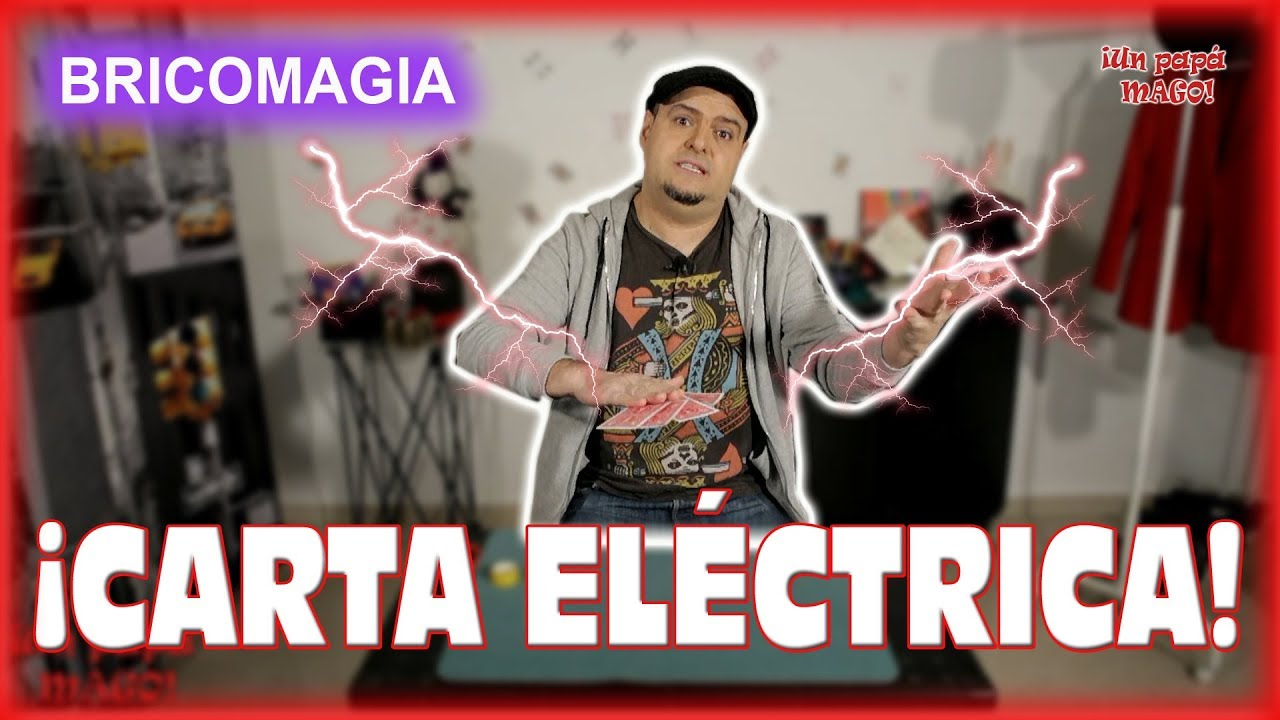 TRUCO DE MAGIA | CARTA ELÉCTRICA | BRICOMAGIA | APRENDE MAGIA | is Family Friendly